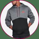 brand name SWEATSHIRTS that are customizable
