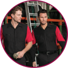 customizable UNIFORMS and work attire